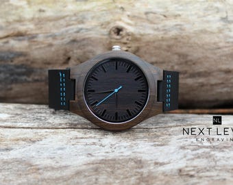 Valentines Day Gift for Boyfriend Gift for Men, Personalized Wooden Watch, Gift for Dad, Mens Wrist Watch, Wrist Watch Men Husband Gift
