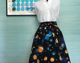 SALE - Outer Space Wrap Skirt