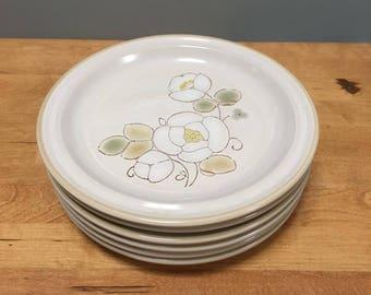 Japanese Stoneware Plates (Set of 6)