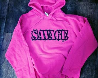 SAVAGE Hoodie - Various Colors