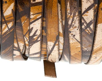 8 mm leather straps. Variety of colors