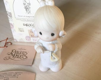 Vintage Precious Moments There's A Song In My Heart Figurine 12171