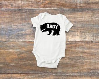 Baby Bear onesie - baby onesie - cute onesie