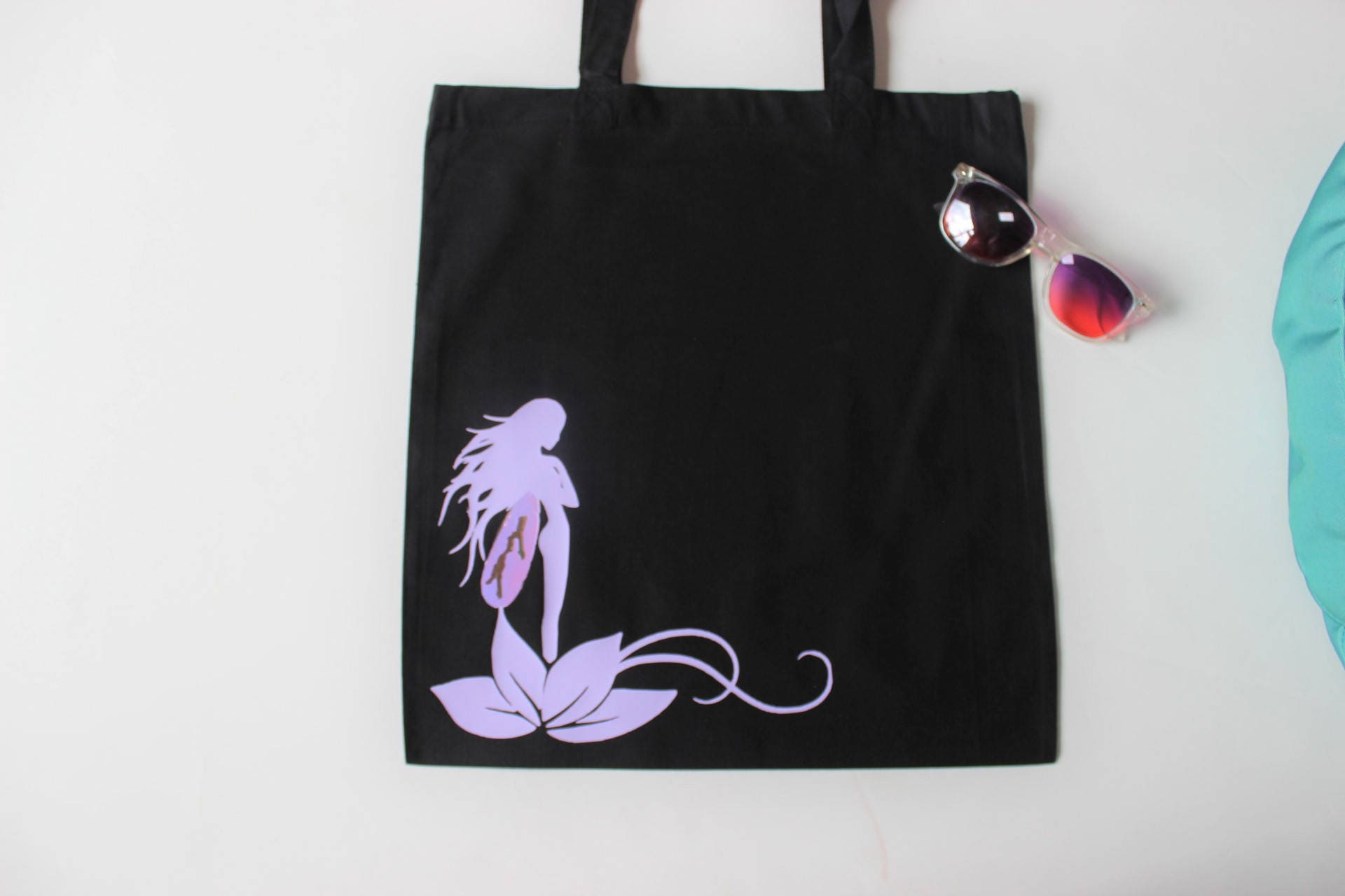 Faeries Bag Lotus Flower Fairy Bag Fantasy Gift Fae Iridescent
