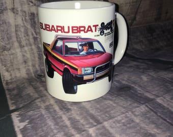 Brat RC Coffee Mug with optional Keychain, gift for rc lover, RC Car Coffee Mug, Gift for Him, Radio Controlled Car Mug, RC car gift