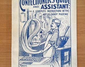 Early 20th Century Candy Making Book