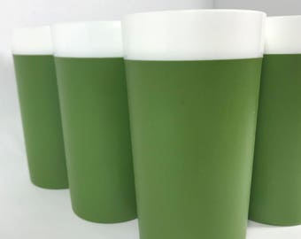 1960's | Gitsware Cups | vintage plastic cups | set of 6