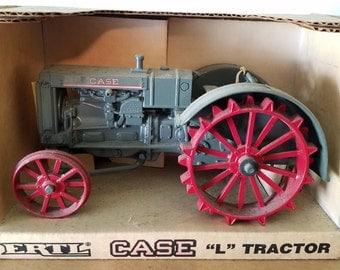 "Case Model ""L"" Farm Tractor Die-cast 1987 ERTL 1/16 #450"