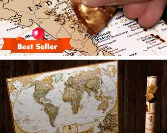 Scratch Off World Map, World Map, Scratch Off Map, Travel Map, Scratch Off, Scratch World Map, Scratch Travel Map, World Map Poster, World M