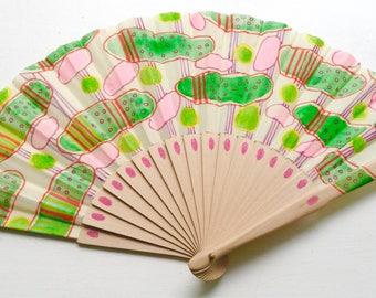 Unique hand fan design 7