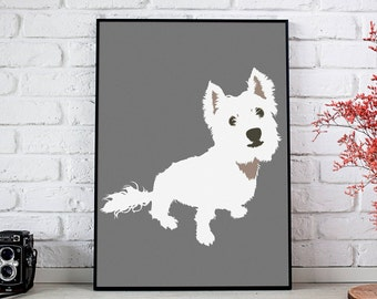1 Pet Illustration, Custom Pet Portrait, Dog Artwork, Cat Illustration, Pet Memorial