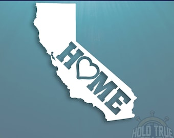 California Decal - PICK COLOR and SIZE - Cali - California Home Decal - California Car Decal - California sticker - California car sticker