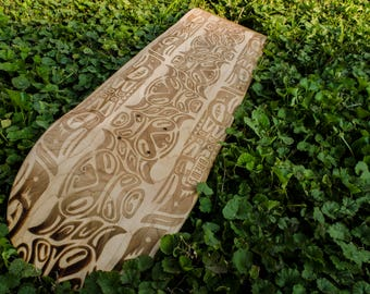 Tribal Skateboard Deck
