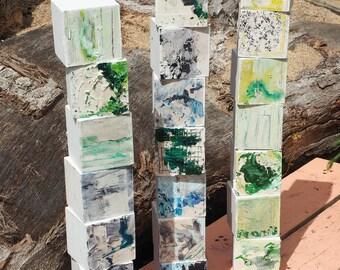 Building Block Paintings