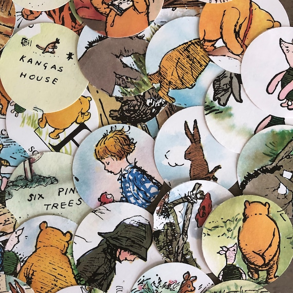 Classic Winnie The Pooh Table Scatter Confetti Childrens