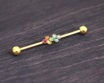 Surgical Steel Industrial Jewelry - Industrial Earring