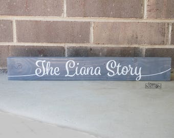 Wood Sign, Wooden Sign, Grey Wood Sign, Gray Wood Sign, Wood Signs, Wooden Signs, Hand Painted Sign, Custom Wood Signs, Gray Sign, Signs