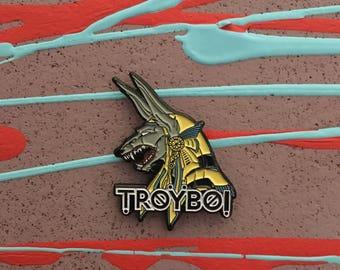 Troyboi Anubis Pin