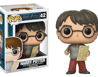 Harry Potter with Marauder's Map - POP Funko Figure 10 cm