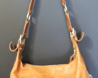 Gorgeous Vintage Roots Purse, Genuine Leather Purse, Ladies Handbag, Made in Canada Roots Canada,