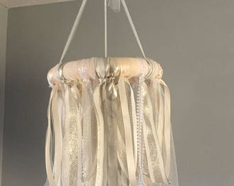 Ribbon Chandelier Baby Mobile