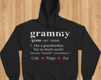 Grammy shirt, grammy gift, personal custome shirt for grammy, shirt for grammy, gift for grammy, grammy hoodie, grammy christmas, grammy tee
