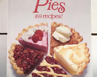 1978 Edition of Better Homes And Gardens All-Time Favorite Pies/Farmhouse 1970's Baking Pie Cookbook/Collectible Cookbook/Retro Cookbook