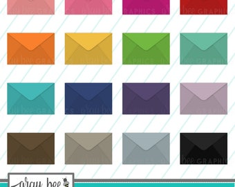 SALE- Envelope-Mail-Letter-Clipart Set, Commercial Use, Instant Download, Digital Clipart, Digital Images- MP226