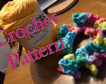 CROCHET PATTERN Crochet Hair Scrunchie