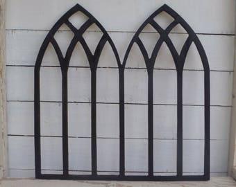 Vintage double window