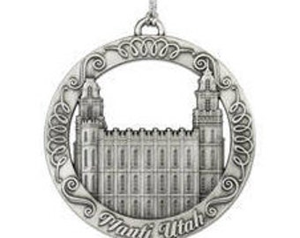 Manti Utah LDS Temple Ornament - LDS Gifts