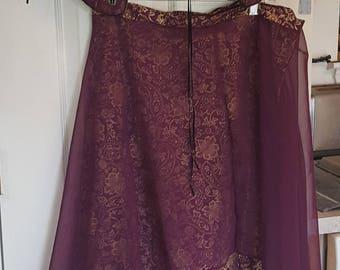 Court Renaissance Garb - Vest/Skirt