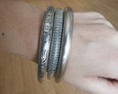 Three beautiful Miao bracelets