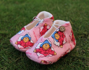 Paddington Bear Shoes-Various sizes