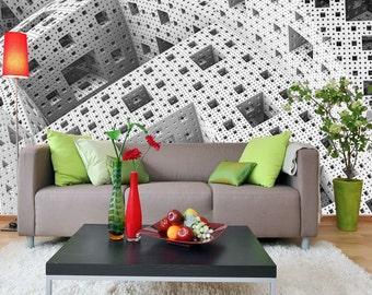 Removable Wallpaper Mural Peel & Stick Futuristic