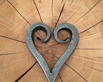Hand Forged Heart