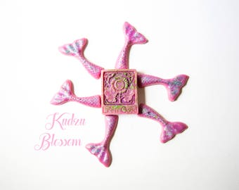 Kudzu Blossom Wax Melts (3.3 Oz.) - Mermaid Tails - Handmade Wax Melts - Hand Poured Wax Melts - Floral Wax Melts - Mermaid - Mermaid Tails