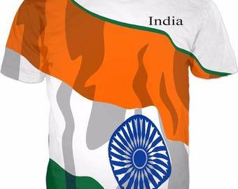 India Men's Flag Tee