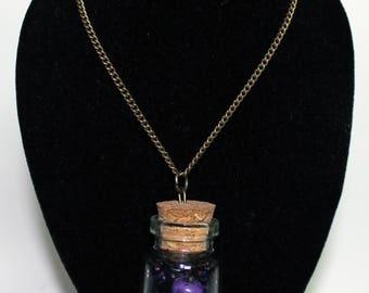 Skull Jar Necklace
