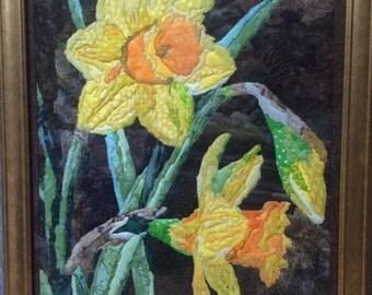 Daffodil Batik Painting