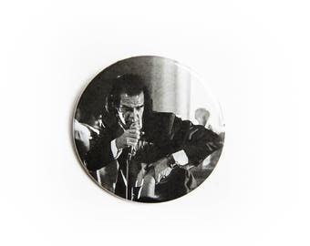 Heartbeat Nick Cave and The Bad Seeds live concert photography 2 1/4 inch photo pin back button