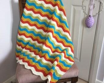 Florence - Handmade Crochet Blanket