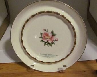 Hycroft China Medicine Hat Greenhouses Ltd Plate