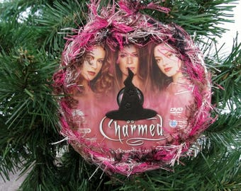 Charmed Christmas Ornament Upcycled TV Show DVD #13