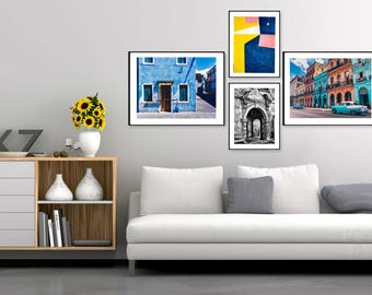 wall portraits living rooms. GALLERY WALL  gallery wall prints set art Gallery Etsy