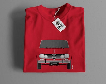 T-shirt Alfa Romeo Giulia 1969 | Gent, Lady and Kids | all the sizes | worldwide shipments | Car Auto Voiture
