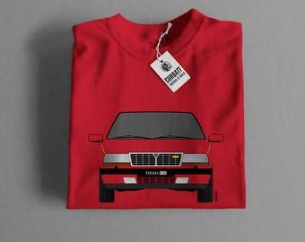 T-shirt Lancia Thema 832 by Ferrari II serie | Gent, Lady and Kids | all the sizes | worldwide shipments | Car Auto Voiture
