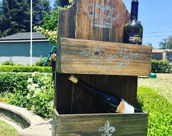 Decorative Wine Bottle Holder