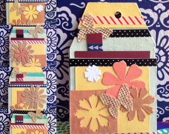 Handmade Autumn Inspired Gift Tags (Set of 5)