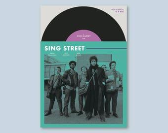 Sing Street Alternative Poster